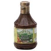 Organicville Sauce, Sesame Teriyaki, Gluten Free, Organic, Bottle
