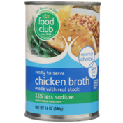 Food Club Ready To Serve Chicken Broth