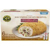 Barber Foods Stuffed Chicken Breasts, Raw, Creme Brie & Apple