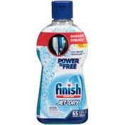 Finish   Jet Dry Power & Free Rinse Aid