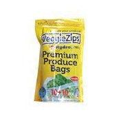 VeggieZips Premium Produce Bags