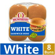 Brownberry Country White Sandwich Buns