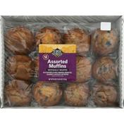 First Street Muffins, Assorted