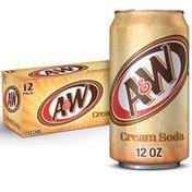 A&W Cream Soda, Case