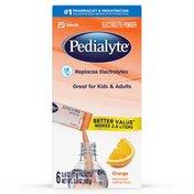 Pedialyte Electrolyte Powder Orange Powder Powder Packs