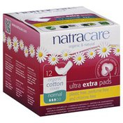 Natracare Pads, Ultra Extra, Normal