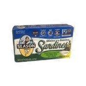 Season Skinless 7 & Boneless Sardines in extra virgin olive oil