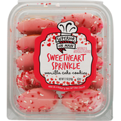 Superior On Main Vanilla Cake Cookies, Sweetheart Sprinkle