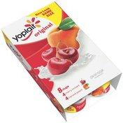 Yoplait Original Cherry Orchard/Harvest Peach Variety Pack Low Fat Yogurt