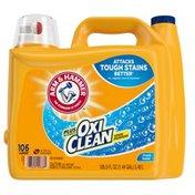 Arm & Hammer Plus Oxiclean Fresh Scent, 106 Loads Liquid Laundry Detergent,