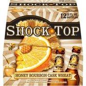 Shock Top Honey Bourbon Cask Wheat Beer