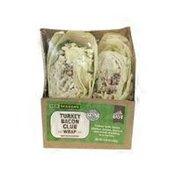 New Seasons Market Grab & Go Vendor Prepared Turkey Bacon Club Wrap