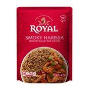 Royal Basmati Rice & Lentils, Seasoned, Smoky Harissa