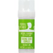 Primal Pit Paste Deodorant, Coconut Lime