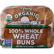 Franz Buns, 100% Whole Wheat