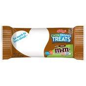 Kellogg's Crispy Marshmallow Squares, with Milk Chocolate M&M's Minis Chocolate Candies