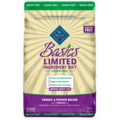 Blue Buffalo Basics Limited Ingredient Diet Grain Free, Natural Indoor Adult Dry Cat Food, Turkey & Potato