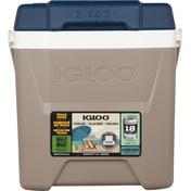 Igloo Cooler, 12 Quart Quantum, Hybrid Sand