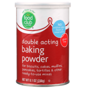 Food Club Double Acting Baking Powder