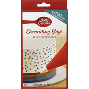Betty Crocker Decorating Bags, Disposable, 12 Inch