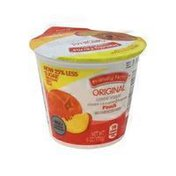 Friendly Farms Peach Original Lowfat Yogurt