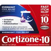Cortizone 10 Cortizone 10, Overnight Itch Relief, Maximum Strength, with Lavender Scent