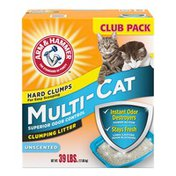 Arm & Hammer Rm & Hammer Multi-Cat Clumping Litter Unscented,