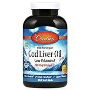 Carlson Labs Cod Liver Oil, Low Vitamin A