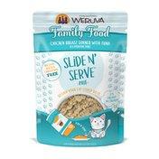 Weruva Slide N' Serve Paté, Family Food Chicken Dinner with Tuna