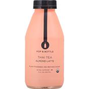 Pop & Bottle Almond Latte, Thai Tea