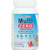 YumVs Multi, Fruit Flavor, Zero, Gummies