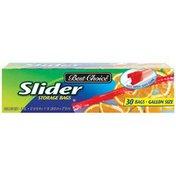 Best Choice Slider Storage Bags