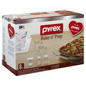 Pyrex Glassware, Oven Safe, with Large Easy Grab Handles