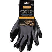 Cordova Gloves, Coated Palm, Smooth Nitrile, Large