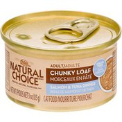 Nutro Natural Choice Chunky Loaf Salmon & Tuna Dinner Canned Adult Cat Food