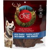 Purina True Instinct Jerky Tenders with Venison Dog Treats