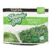 Food Club Steamin' Easy, Broccoli Florets