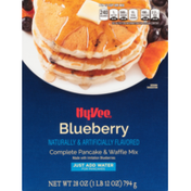 Hy-Vee Blueberry Complete Pancake & Waffle Mix