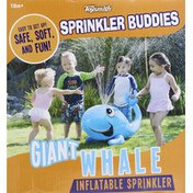 Toysmith Sprinkler, Inflatable, Giant Whale
