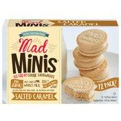 Mad Mini's Salted Caramel Ice Cream Sandwiches