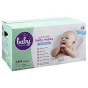 Baby Basics Baby Wipes, Soft & Thick, Sensitive