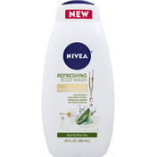 Nivea Body Wash, Refreshing, Basil & White Tea