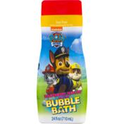 Nickelodeon Paw Patrol Raspberry Rescue Scented Bubble Bath Tear-Free