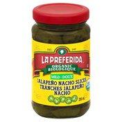 La Preferida Jalapeno Peppers, Nacho Slices, Mild