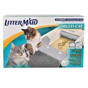 "Litter Maid Multi Cat Automatic Self Cleaning Litter Box 37"" L X 17.5"" W X 8.5"" H"