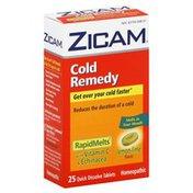 Zicam Cold Remedy, Quick Dissolve Tablets, Lemon-Lime Flavor