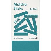 Rishi Tea Matcha Sticks, 16 Pack
