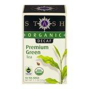 Stash Tea Organic Decaf Premium Green Tea - 18 CT
