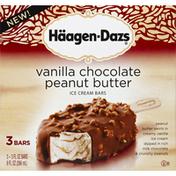 Haagen-Dazs Ice Cream Bars, Vanilla Chocolate Peanut Butter