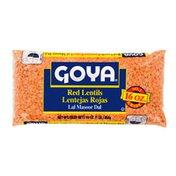 Goya Red Lentils, Dry